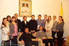2013.02.03 Молодь в Апостольській Нунціятурі