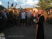 о. Андрій Зелінський в АТО