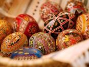 Купити писачки, купити зразки писанок, фарби для яєць