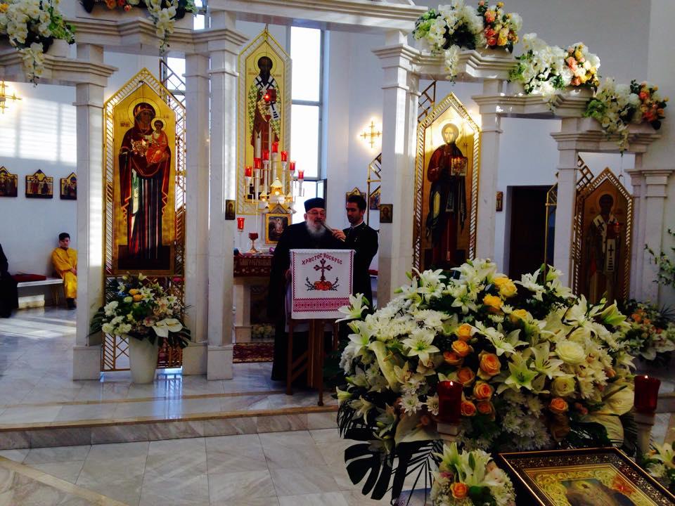 Пасхальні богослужіння у храмі св. Василія Великого
