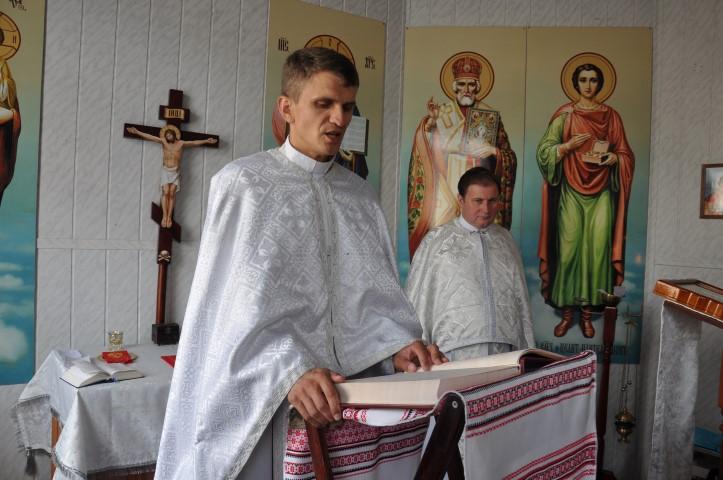Літургія на парафії Різдва Христового в Білій Церкві. Отець Ігор Гріщенко