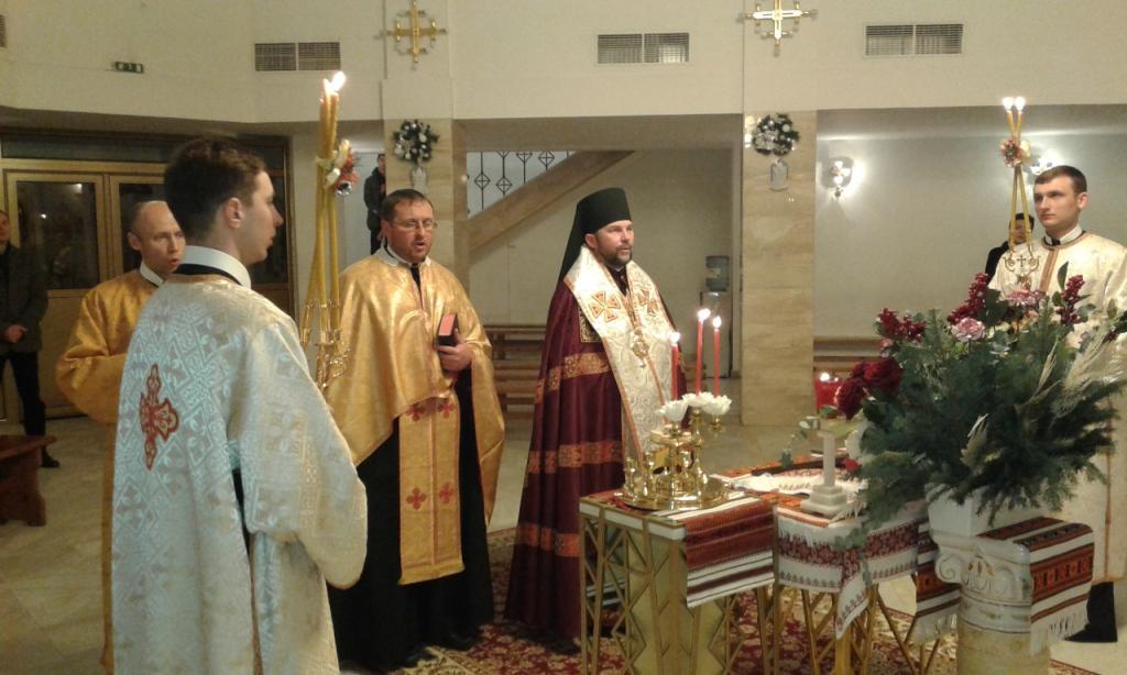 Велика Вечірня з Литією у храмі св. Василія Великого